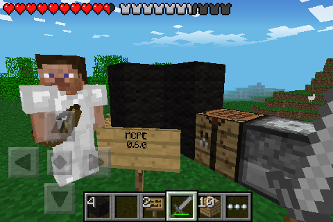 Minecraft Pocket Edition 0.6.0 Submitted news