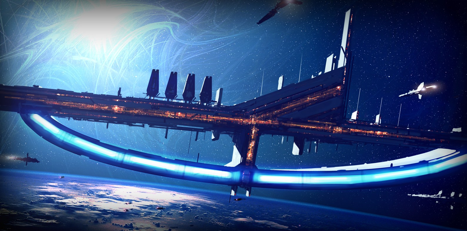 Minuteman Station, seen at the beginning of Mass Effect2