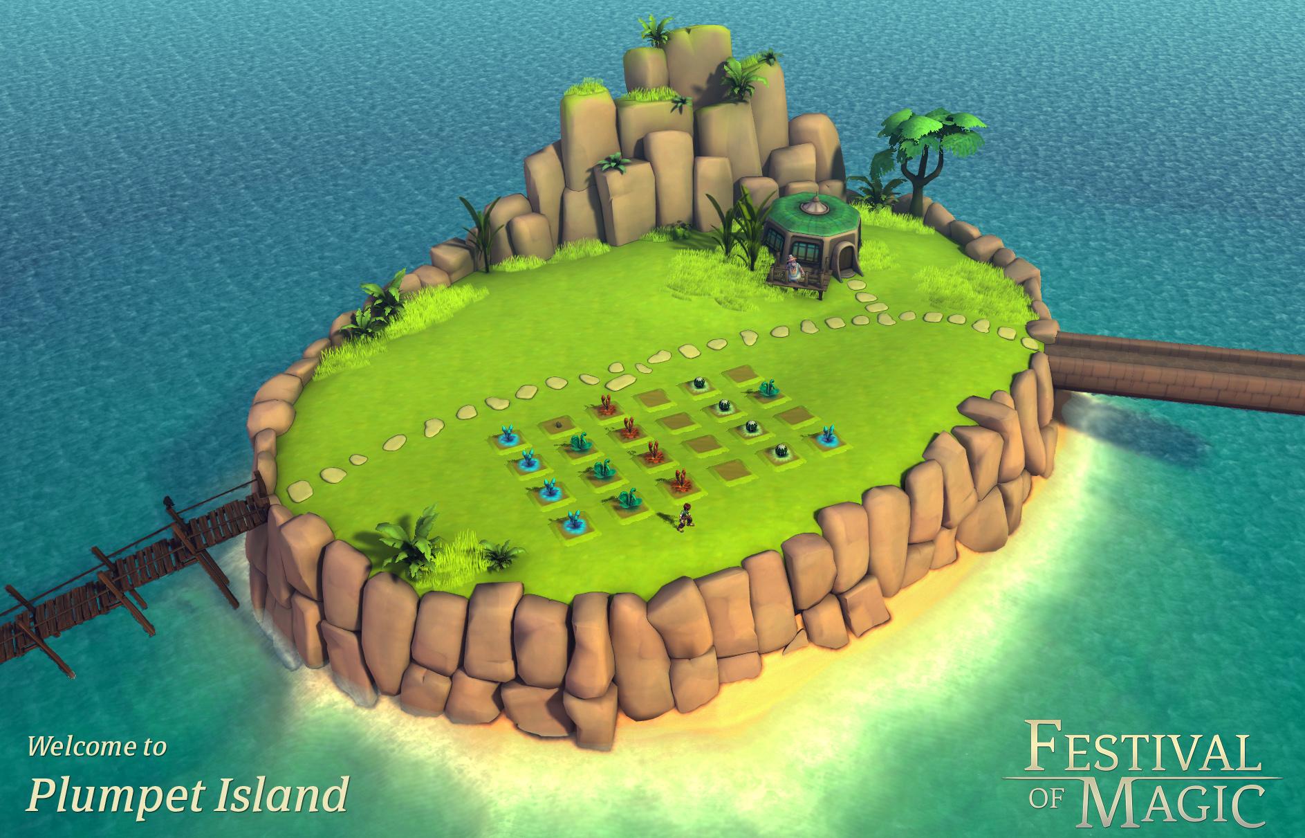 Plumpet Island (Festival of Magic)