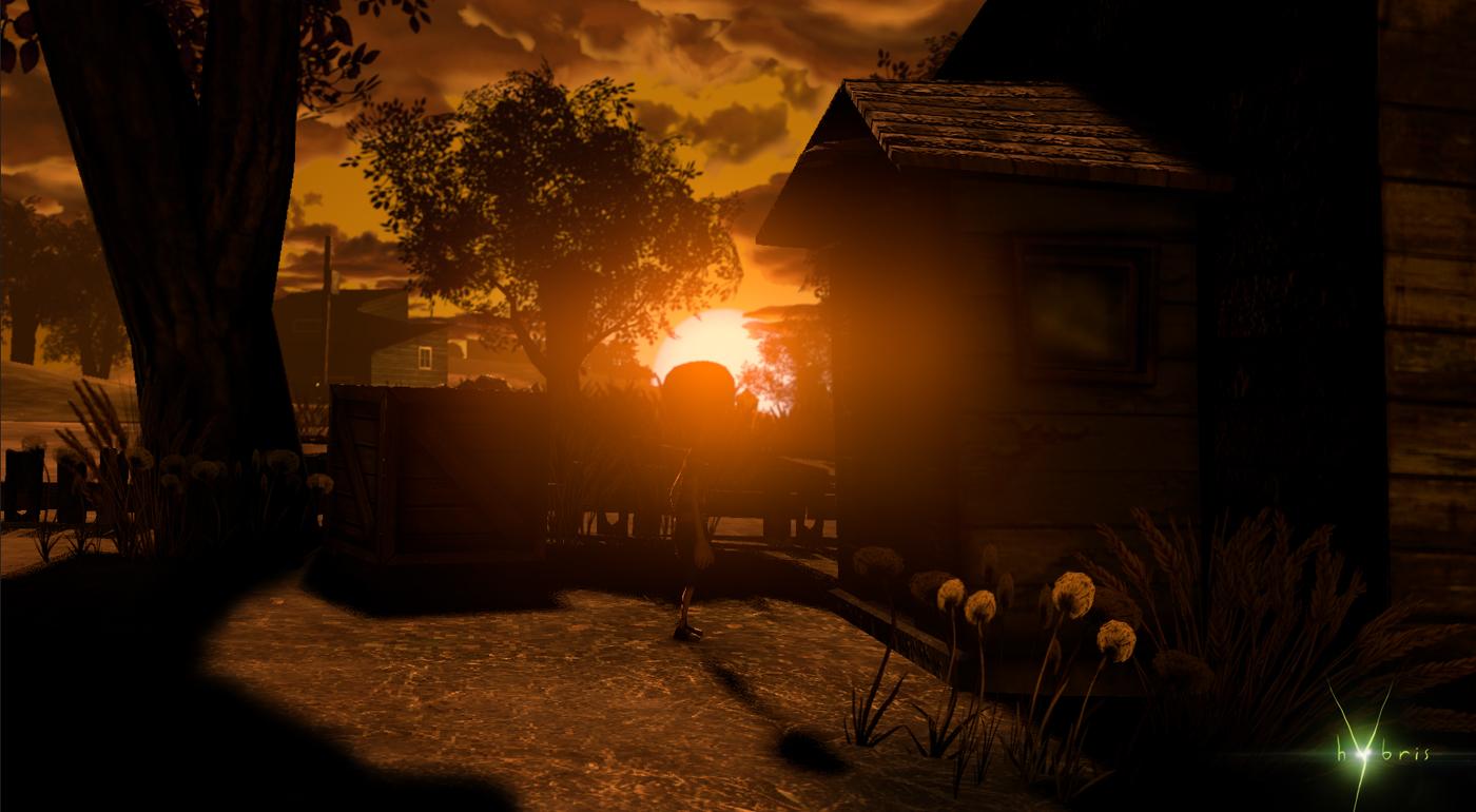 Hybris sunset