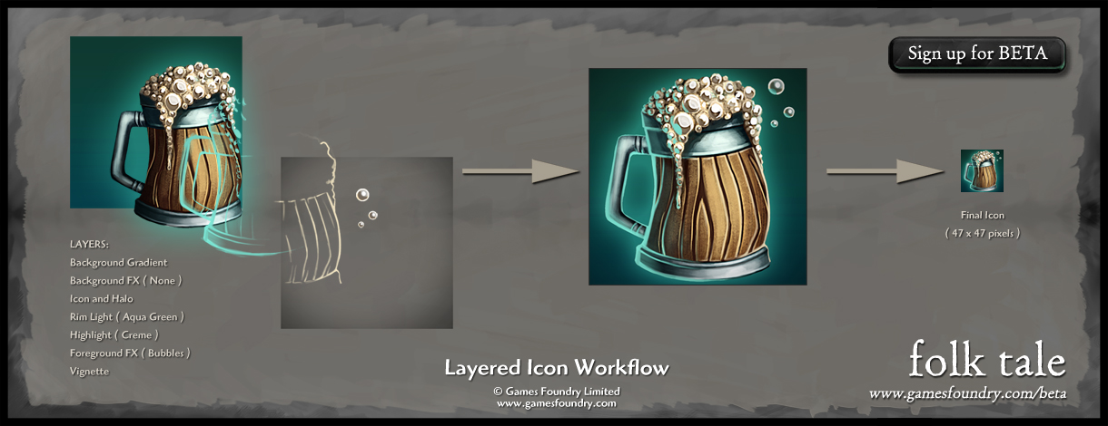 Layered Icon Workflow