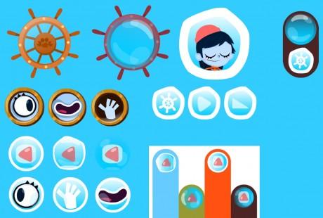 Various UI elements