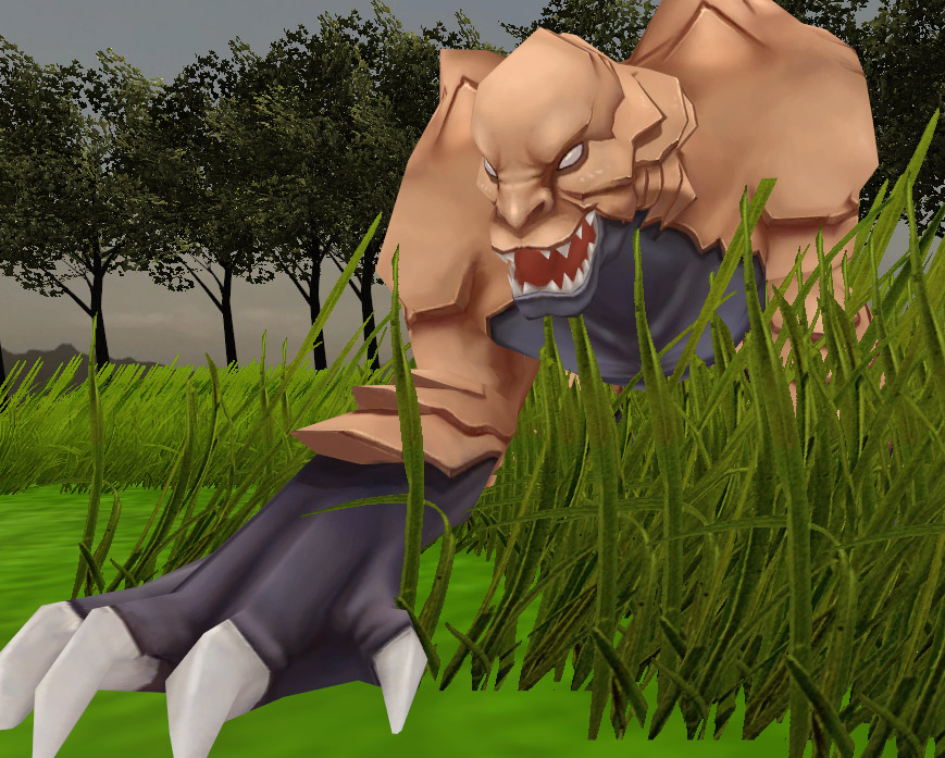 Soul Saga Behemoth Prowling In The Grass