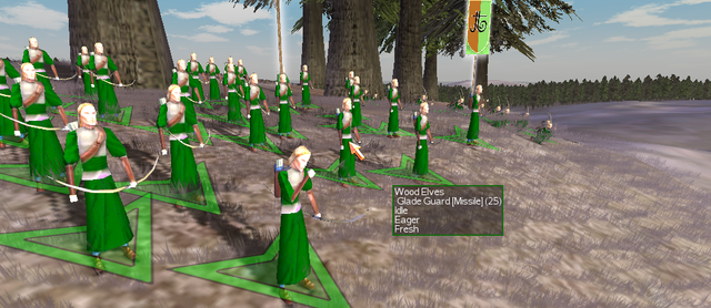 Wood Elven Glade Guards