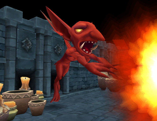 Soul Saga Gargoyle Cast Fireball 1