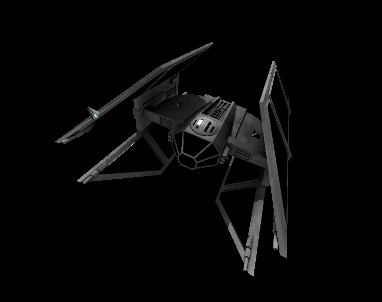 Preliminary TIE Defender. Textures are planned to be redone to be more detailed.