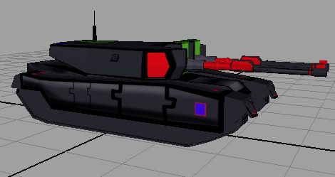 The Formidable Tank in before unity3d Input
