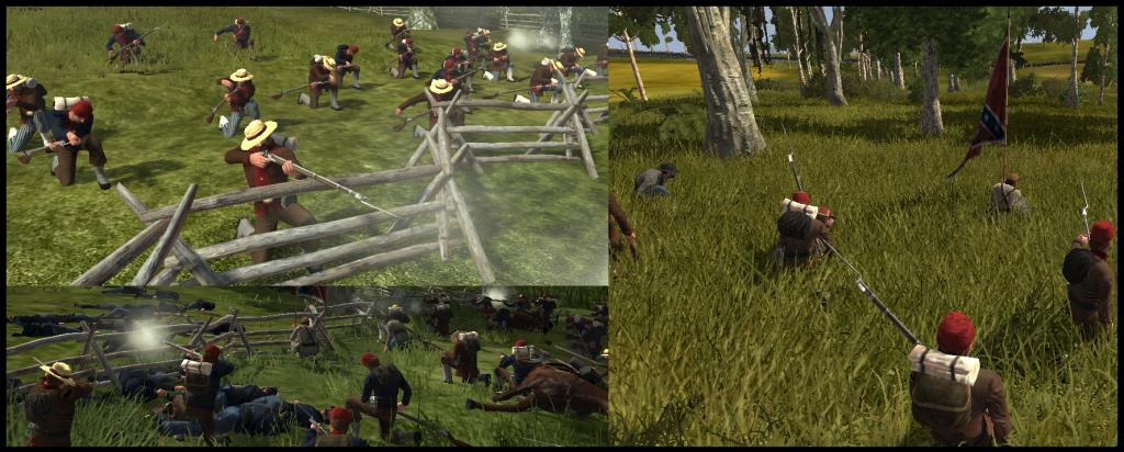 North vs south civil war