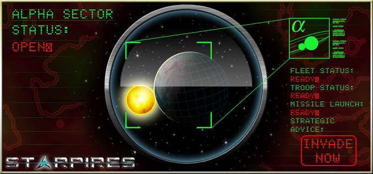 New Starpires server, Alpha Sector is now open.