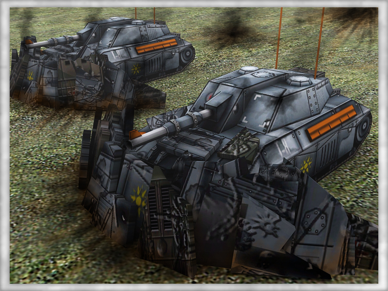 Taurus Tanks with Steel Fortifications