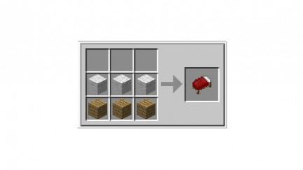 Minecraft Bed Crafting Recipe