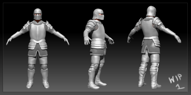 iron armour WIP