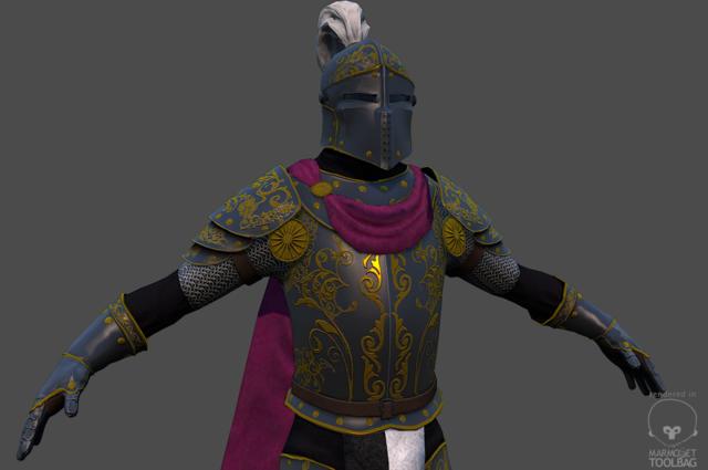 royal guard closeup