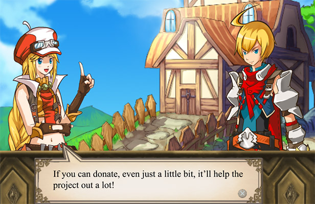 Soul Saga Kickstarter Video Screenshot