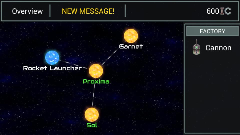 Ionage developer blog - Indie tactical RTS app for Android featuring battling space platforms - Alpha v0.63
