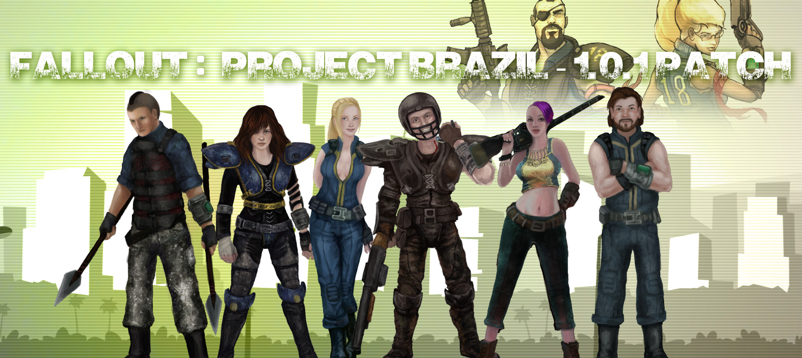 Fallout NV - Проект Бразилия (Project Brazil) .