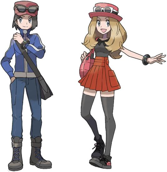 Pokemon Gen 6 Anime Characters : Pokemon and y news mod db