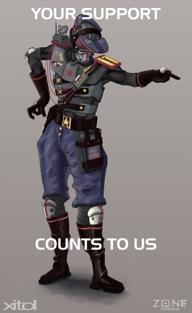 AFA Commander Support Poster