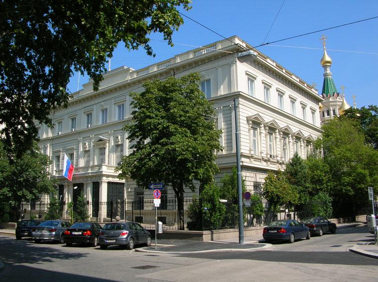Russian Embassy Vienna