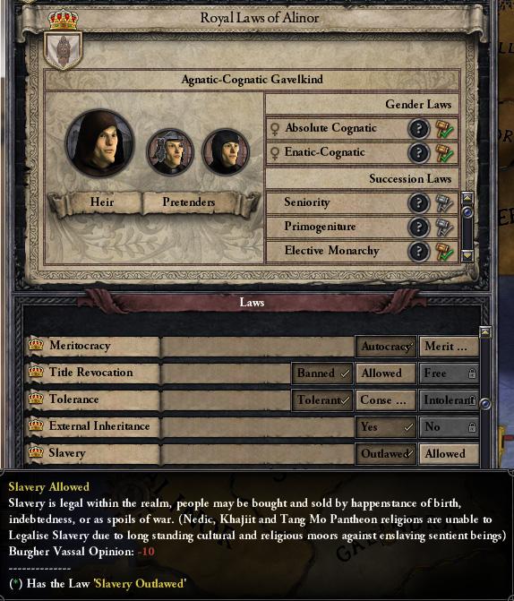 0 1 4 Preview #1 ~ Slavery news - Elder Kings mod for