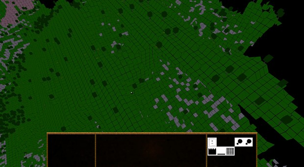 New terrain closeup