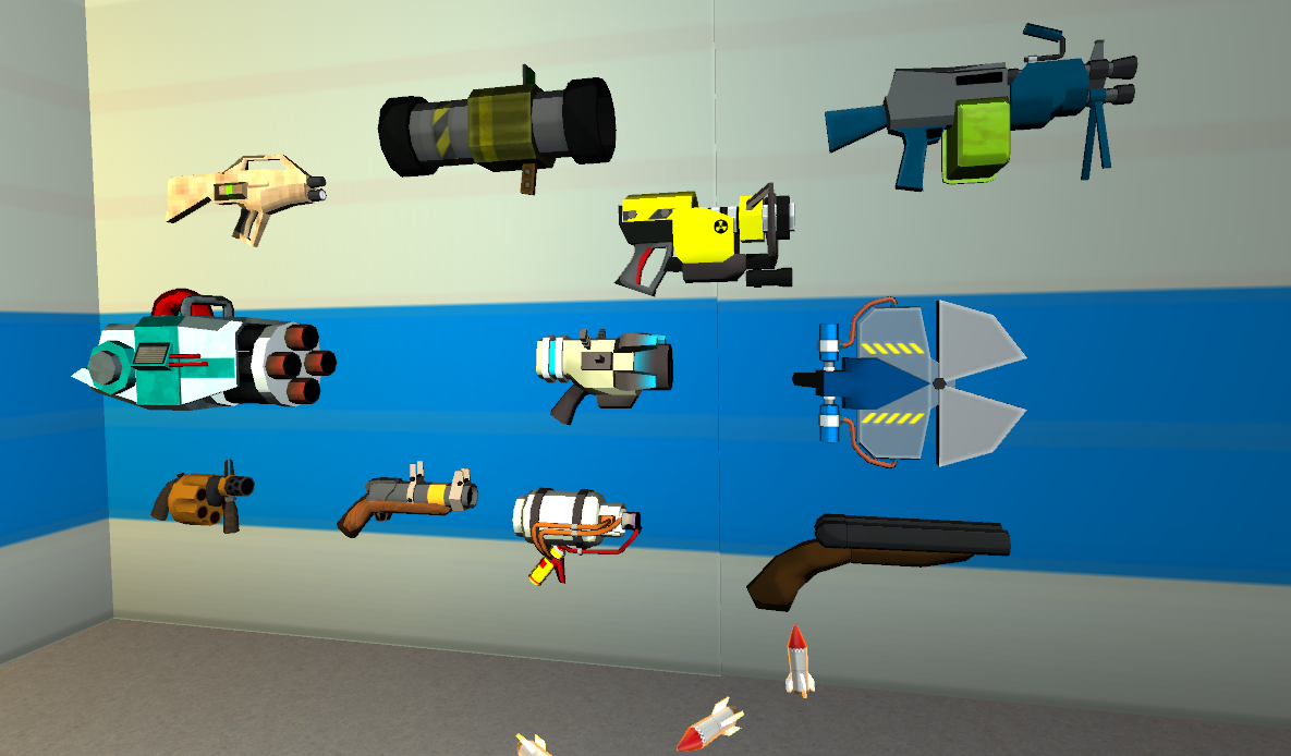 The usual Screenshotguy has some technical difficulties, so you'll have to be happy with some guns!