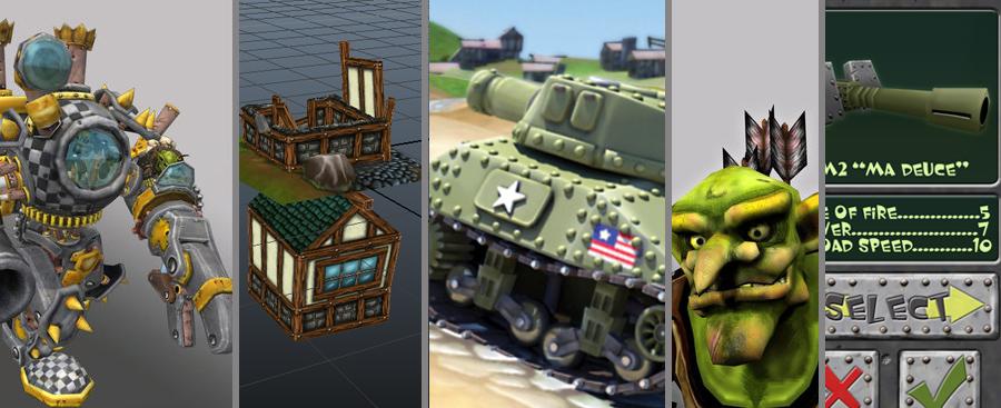 Art Assets for Game Developers
