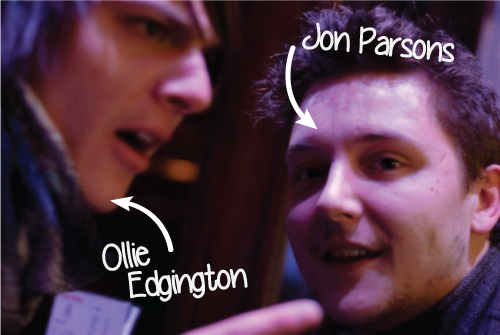 Jon Parsons and I engaged in a lovely argument.