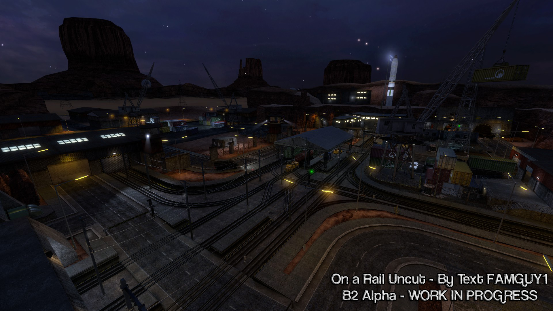 Black Mesa On A Rail Uncut B2 Alpha News Mod Db