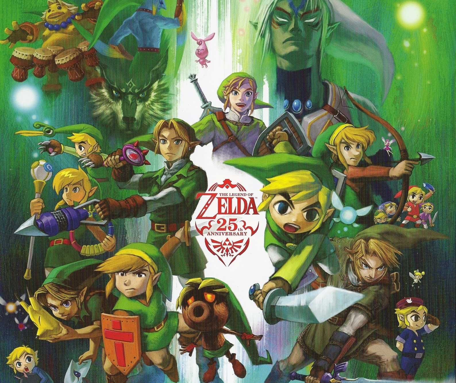 Is link the same link in every legend of zelda game? - Answers