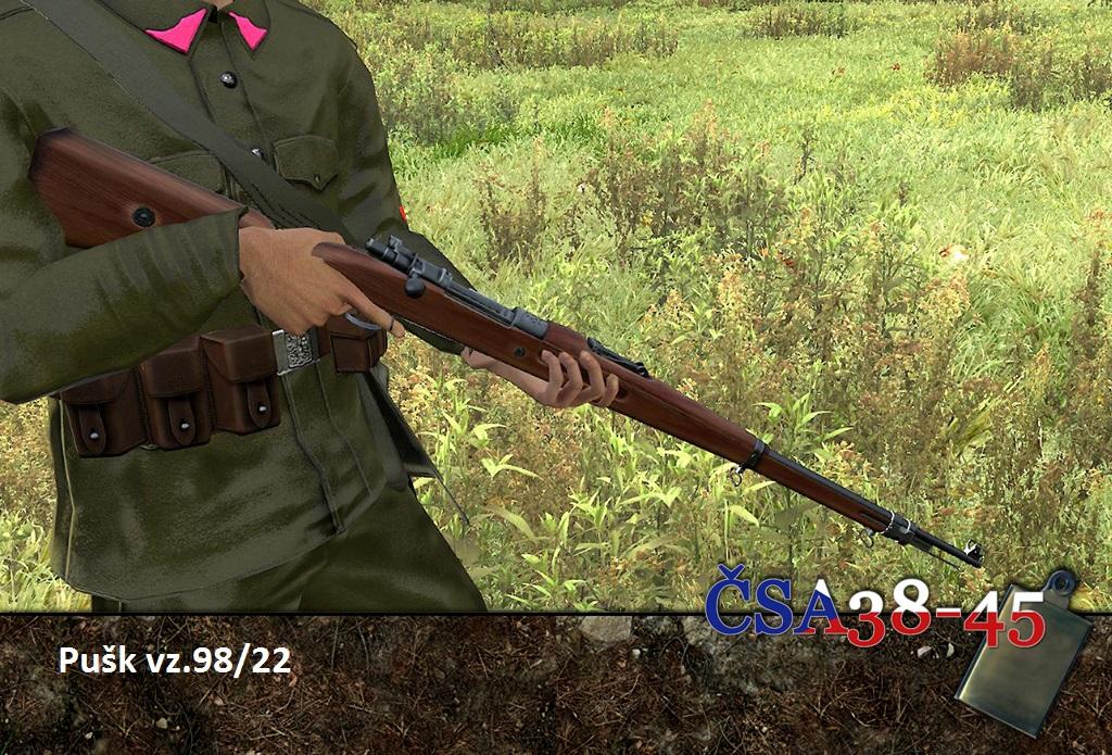Rifle vz 98/22 news - CSA38 mod - Czechoslovak army 1938