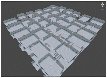 How to create a randomly generated maze tutorial - Unity