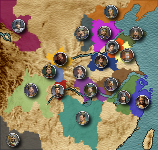 Features news - Rise of Three Kingdoms (RoTK) mod for Medieval II
