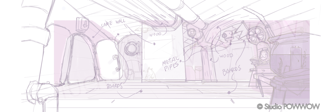 Rough Sketch Layout