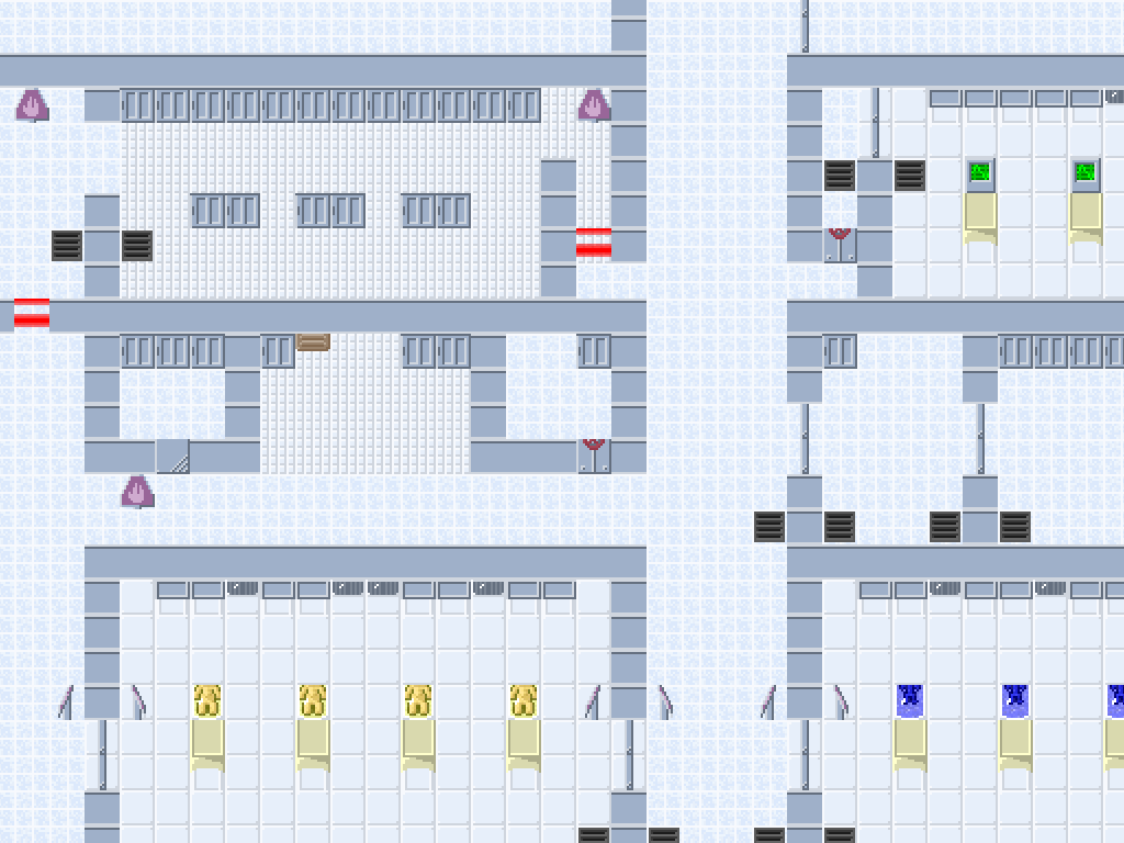 The map editor doesn't look pretty, but it's much better than editing raw hex.