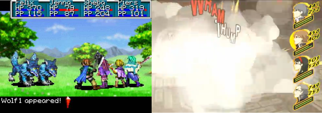 Golden Sun and Persona 4