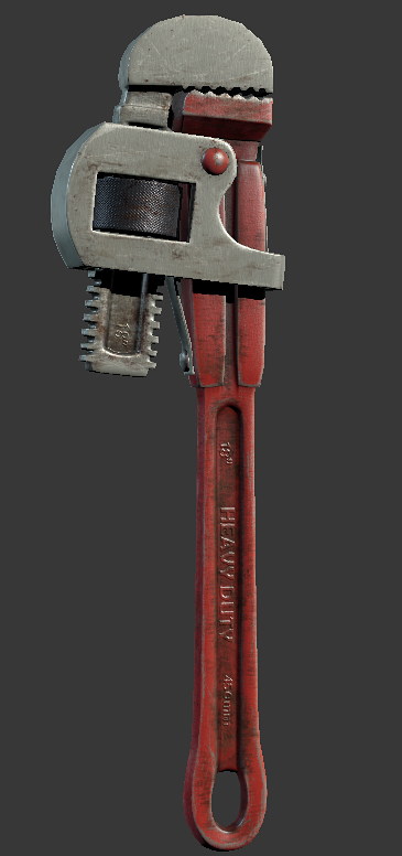 Solarix wrench weapon