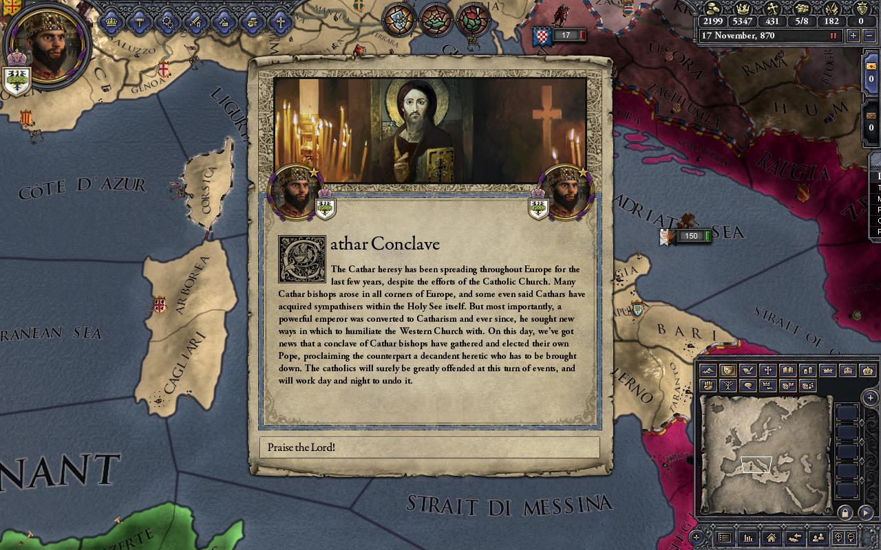 Heresy Expansion mod for Crusader Kings II - Mod DB