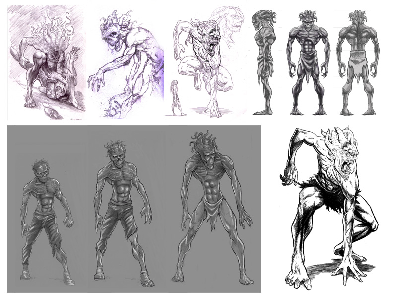 Evolution of a boss zombie, Part 2