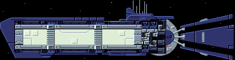 Interstellaria - New frigate class starship