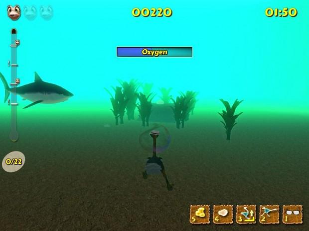 Underwater craziness