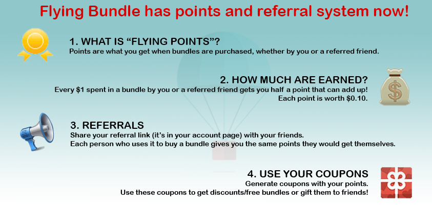 Flying Points and Referral System