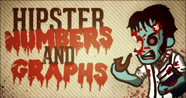 Hipster Zombies: Numbers & Graphs