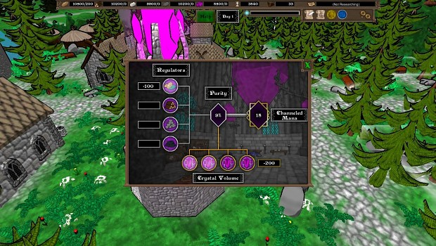 New Magic System Components