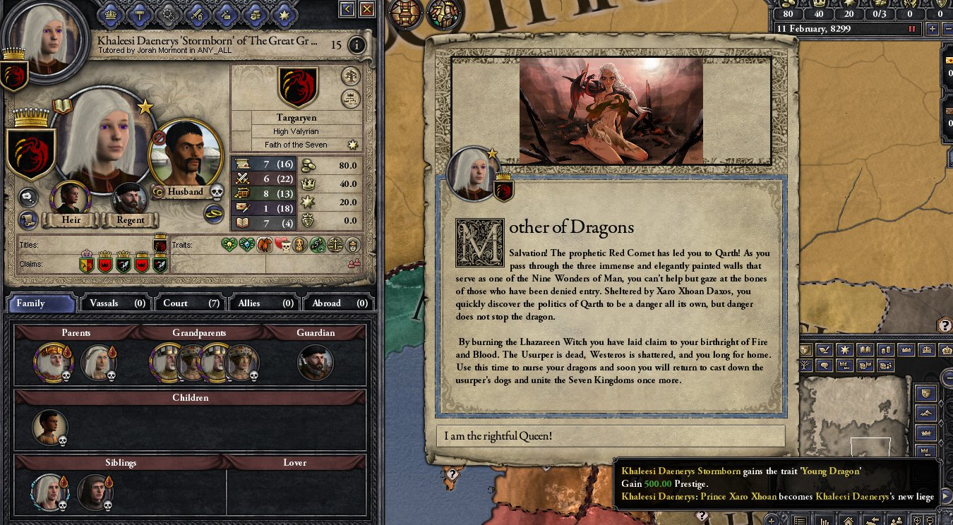 Ck2 game of thrones mod guide
