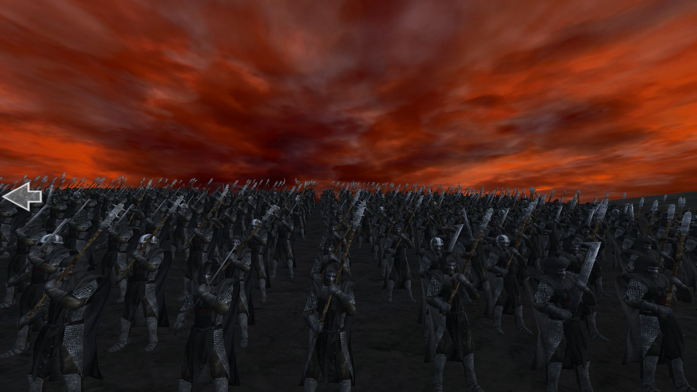 Sauron's Will be done.