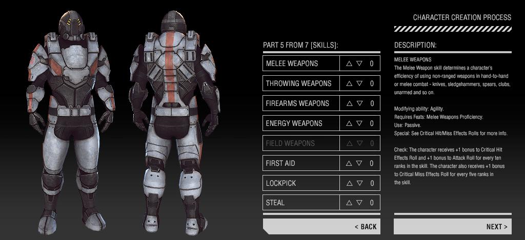 Game Mechanics: Skills news - After Reset™ RPG - Mod DB