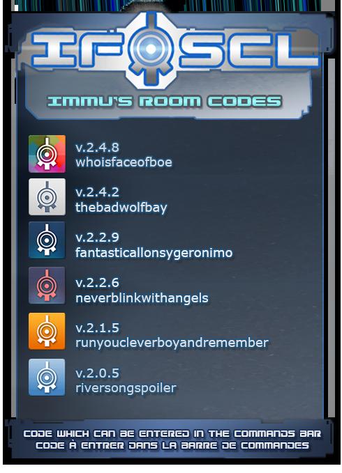 Ifscl Immu's Room code 2.4.8