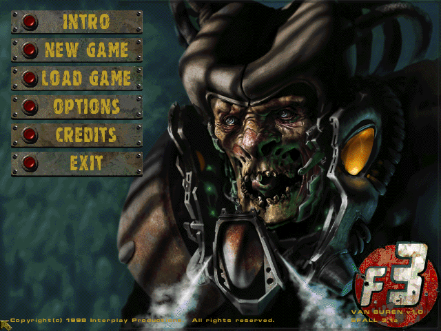 Заставка на MainScreen в стиле Fallout 2  WarCraft 3