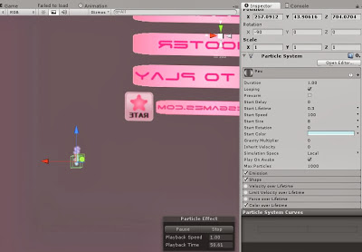 Shooting Particles in Unity :: rpgmaker net